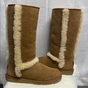 UGG Sunburst Tall Brown Boots